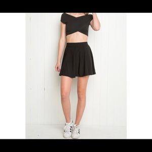 Black Brandy Melville skirt!!